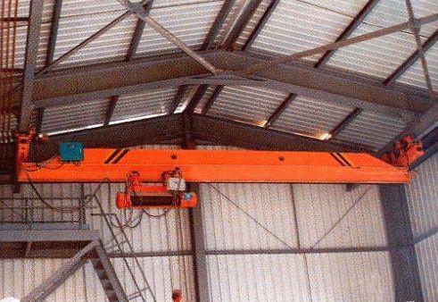 LXG型电动单梁悬挂过轨起重机